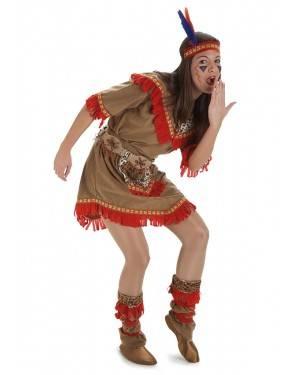 Costume Indiana Donna T. M/L