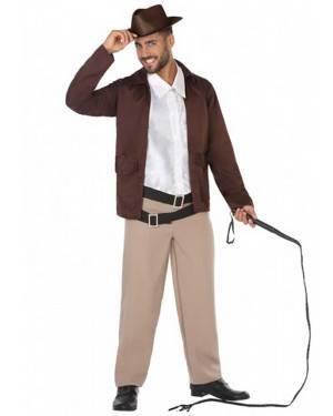Costume Indiana Jones Adulto per Carnevale | La Casa di Carnevale