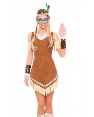 Costume Indiana Moicana Tg. M/L
