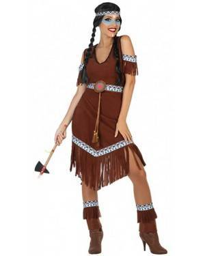 Costume Indiana Selvaggia Donna per Carnevale | La Casa di Carnevale