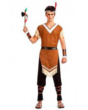 Costume Indiano Moicano Tg. M/L