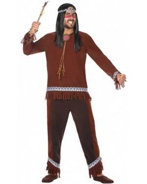 Costume Indiano Selvaggio Adulto per Carnevale | La Casa di Carnevale