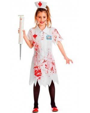 Costume Infermiera Zombie Tg. 5-6 Anni
