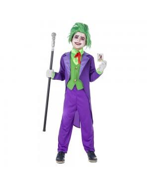 Costume Joker Bambino per Carnevale | La Casa di Carnevale