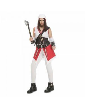 Costume Justicier Bianco Donna per Carnevale | La Casa di Carnevale