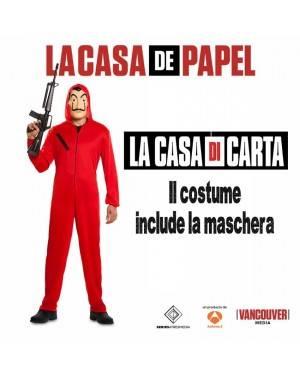 Costume da Ladro de La Casa di Carta Adulto