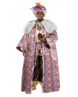 Costume Lussuoso da Re Magio Baldassarre Adulto XL