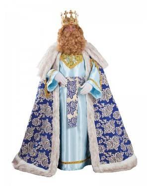 Costume Lussuoso da Re Magio Gaspare Adulto XL