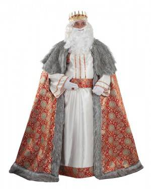 Costume Lussuoso da Re Magio Melchiorre Adulto XL