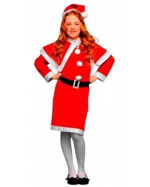 Costume Mamma Natale Tg. 3-4 Anni