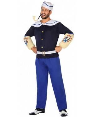 Costume Marinaio Braccio di Ferro Adulto per Carnevale | La Casa di Carnevale