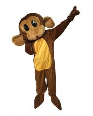 Costume da Mascotte Scimmia Adulto M/L