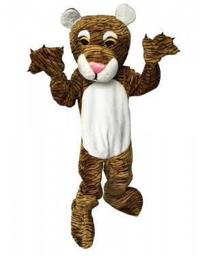 Costume da Mascotte Tigre Adulto M/L