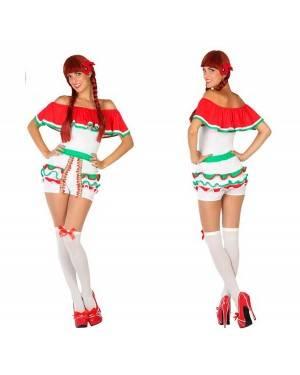 Costume Messicana Adulto per Carnevale | La Casa di Carnevale