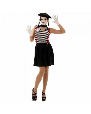 Costume Mimo Donna M/L per Carnevale | La Casa di Carnevale