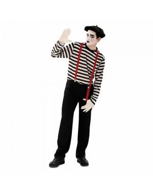 Costume Mimo Uomo M/L per Carnevale | La Casa di Carnevale