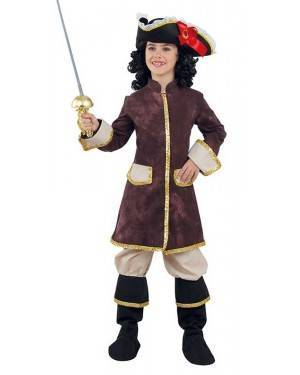 Costume da Moschettiera Bambina