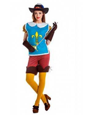 Costume Moschettiera Reale Tg. M/L