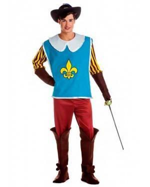 Costume Moschettiere Reale Taglia M-L per Carnevale