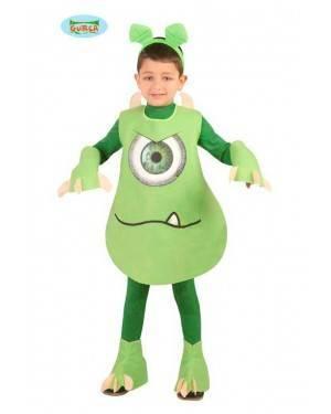 Costume Mostro Verde Bambino