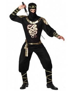 Costume Ninja Adulto per Carnevale   La Casa di Carnevale