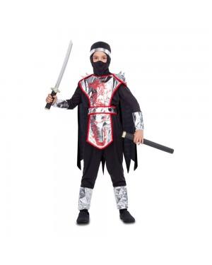 Costume Ninja Dragon Bambino per Carnevale   La Casa di Carnevale