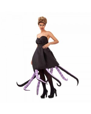 Costume Octopus Lady Nero M/L per Carnevale | La Casa di Carnevale