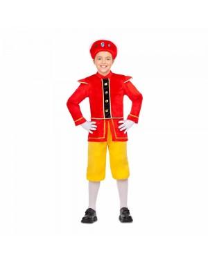 Costume Paggio Giallo Bambini  per Carnevale | La Casa di Carnevale
