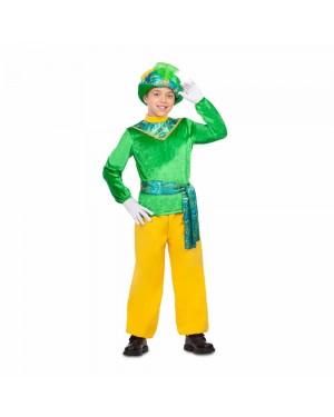 Costume Paggio Verde Bambini  per Carnevale | La Casa di Carnevale