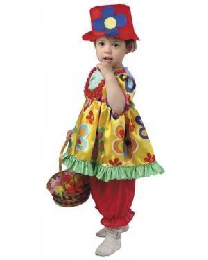 Costume da Pagliaccetta Bimba per Carnevale | La Casa di Carnevale