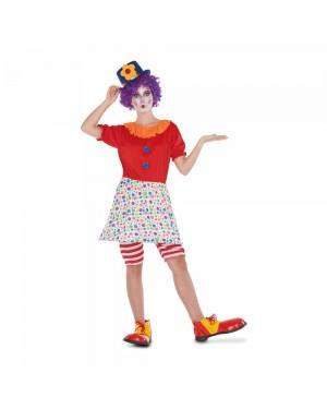 Costume Pagliaccia M/L  per Carnevale | La Casa di Carnevale