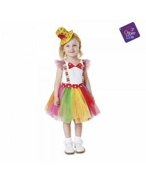 Costume Pagliaccia Tutu Bambina per Carnevale | La Casa di Carnevale