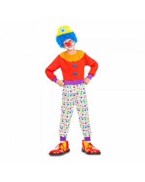 Costume Pagliaccio Bambino per Carnevale | La Casa di Carnevale