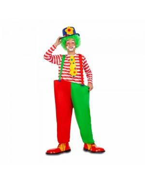 Costume Pagliaccio Colore Bambino per Carnevale | La Casa di Carnevale