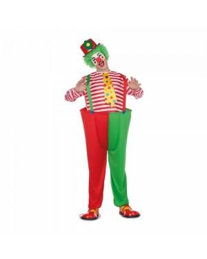 Costume Pagliaccio Colore M/L  per Carnevale | La Casa di Carnevale