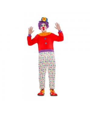 Costume Pagliaccio M/L  per Carnevale | La Casa di Carnevale