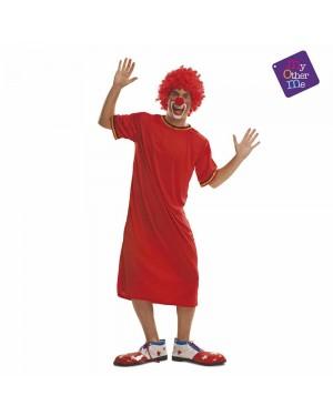 Costume Pagliaccio Rosso M/L  per Carnevale | La Casa di Carnevale