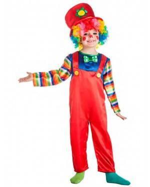 Costume Pagliaccio Rosso per Carnevale | La Casa di Carnevale