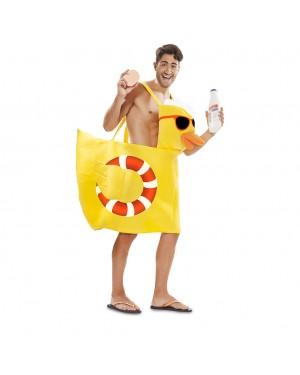Costume Paperella di gomma Taglia M/L per Carnevale | La Casa di Carnevale