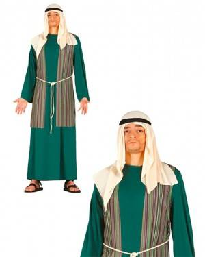 Costume Pastore Ebraico Verde
