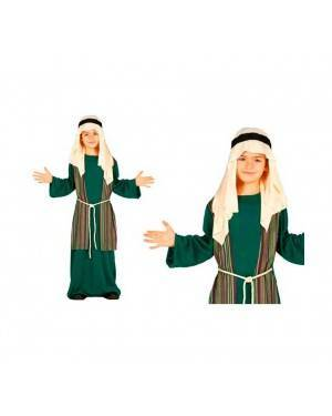 Costume Pastore Giuseppe Verde Bambino