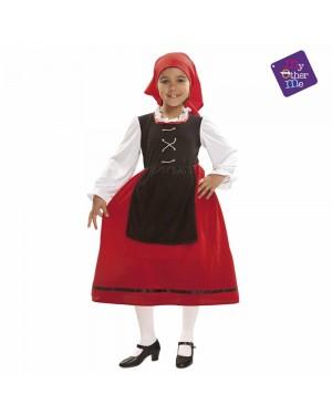 Costume Pastorella Bambina per Carnevale | La Casa di Carnevale