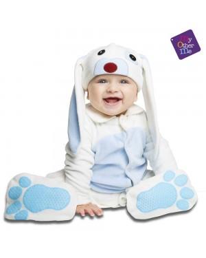 Costume Piccolo Coniglietto Blu Bimbi  per Carnevale | La Casa di Carnevale