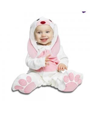 Costume Piccolo Coniglietto Rosa Bimbi  per Carnevale | La Casa di Carnevale