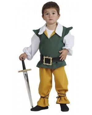 Costume da Piccolo Medievale Bambino per Carnevale | La Casa di Carnevale