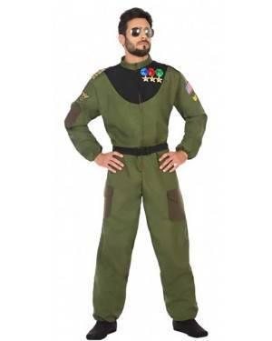 Costume Pilota di Caccia Adulto per Carnevale | La Casa di Carnevale