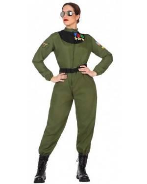Costume Pilota di Caccia Donna per Carnevale | La Casa di Carnevale