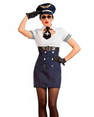 Costume Pilota Sexy per Carnevale | La Casa di Carnevale