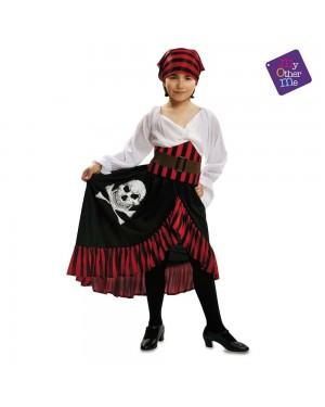 Costume Pirata Bandana Bambina per Carnevale | La Casa di Carnevale