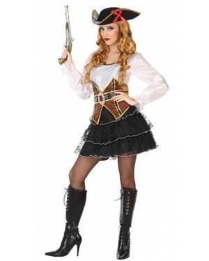 Costume Pirata Sexy Donna per Carnevale | La Casa di Carnevale